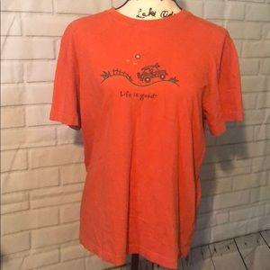 Life is good t-shirt size M EUC